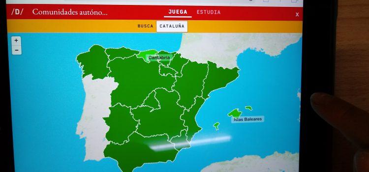 Estudiant Espanya d'una forma divertida!