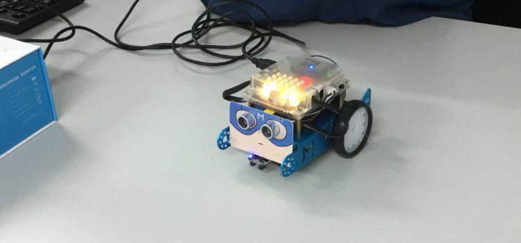 Alumnes 3r ESO: Programar un robot mòbil (Demotec – A la UIB)