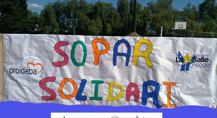 SOPAR SOLIDARI A BENEFICI DE PROIDEBA I LA SALLE ACULL