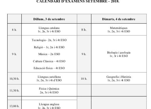 Exámenes de septiembre!! mucho ánimo y fuerza!!