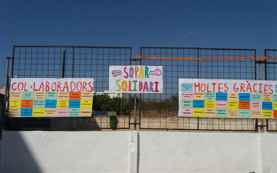 FESTIVAL FIN DE CURSO Y CENA SOLIDARIA