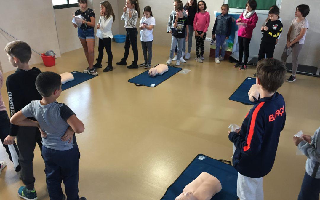 Primeros auxilios dentro del aula