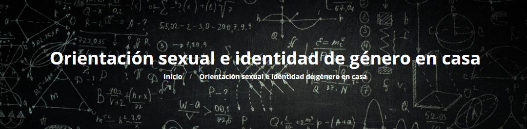Orientación sexual e identidad de género en casa