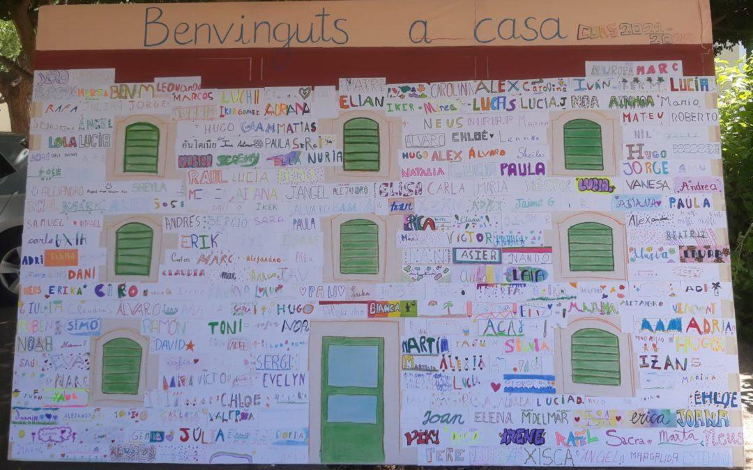 BENVINGUTS A CASA!